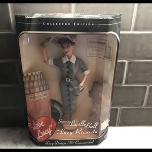 Lucille ball collectible doll
